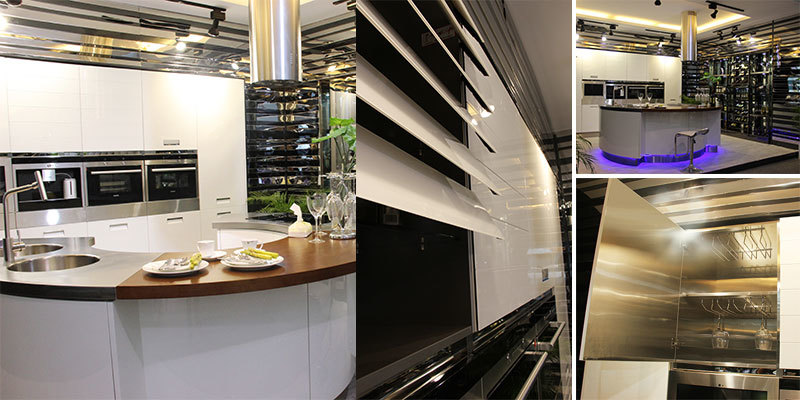 Custom outdoor metal kitchen cabinets column stainless steel wall cabinets kitchen