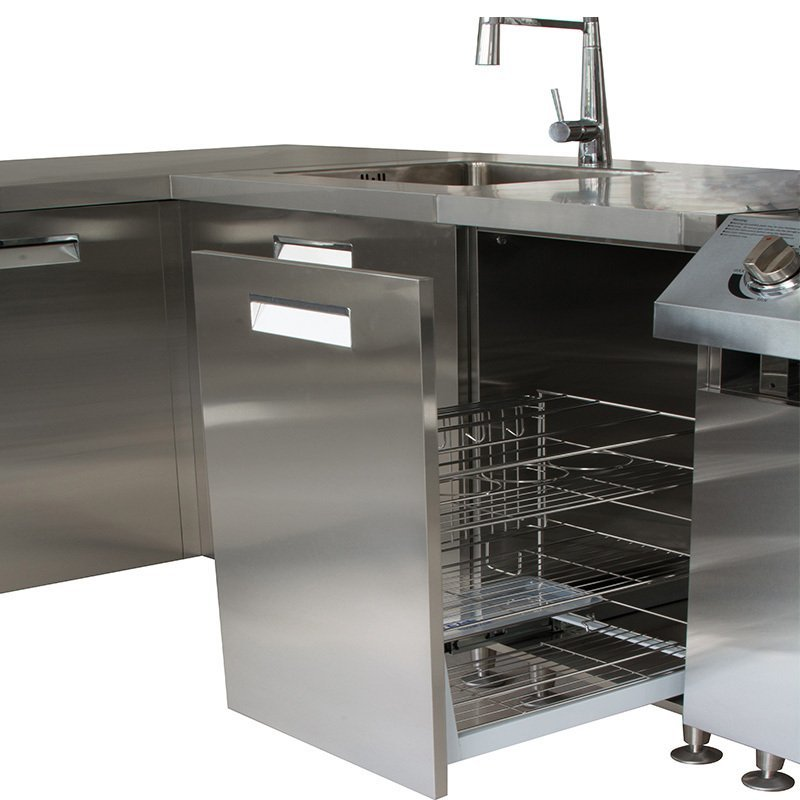 HY001 Party - Outdoor BBQ Kitchen 304 Stainless Steel Kitchen Cabinet